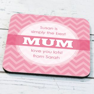 Personalised Mum Coaster Product Image