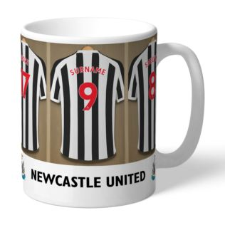 Personalised Newcastle United FC Dressing Room Mug Product Image