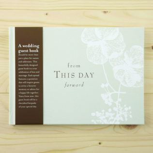 Compendium From This Day Forward Wedding Guest Book Product Image