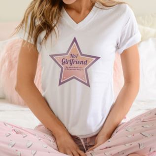 Personalised Number 1 Girlfriend T-Shirt Product Image