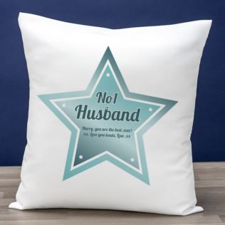 Best Husband Personalised Cushion Product Image