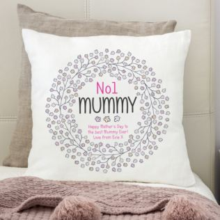 Personalised No1 Mummy Cushion Product Image