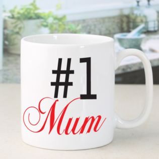 Number One Mum Mug Product Image