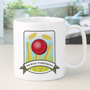 Personalised No Ball Tampering Cricket Mug Product Image