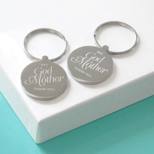 Personalised Godmother Keyring Product Image