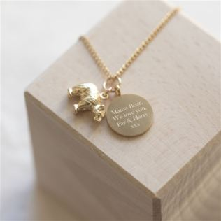 Personalised Mama Bear Necklace Product Image