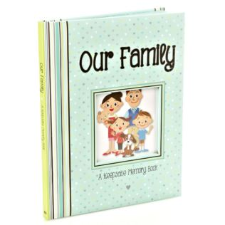 Our Family a Keepsake Memory Book Product Image