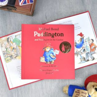 Personalised Paddington Bear Story Book Product Image