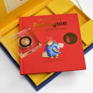 Paddington Bear Royal Mint Collection Box - Gold Proof 50p Coin Product Image