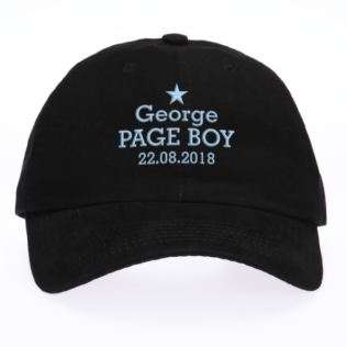 Personalised Embroidered Page Boy Cap Product Image