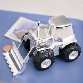 Personalised Page Boy Digger Money Box Product Image