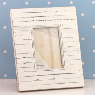 Paradise 4 x 6 Cream Wood Photo Frame Product Image