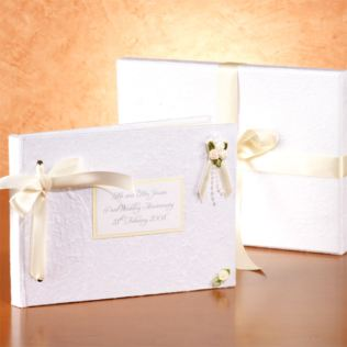 Personalised Pearl Wedding Anniversary Photo Album Product Image