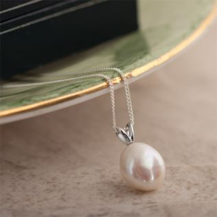 Pearl Pendant With Personalised Gift Box Product Image