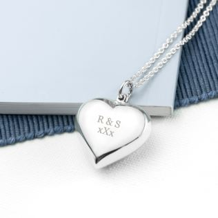Personalised Cherish Heart Necklace Product Image