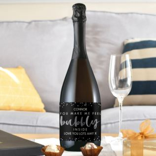 Personalised Bubbly Prosecco Product Image