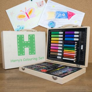 Personalised Children's Colouring In Set Product Image