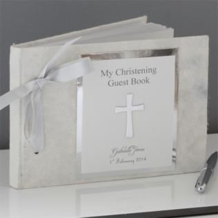 My Christening Day - Personalised Guest Book Product Image
