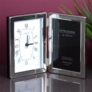 Personalised Clock Photo Frame Product Image