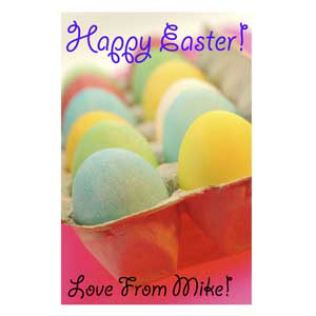 Personalised Easter Message On A Jigsaw Product Image