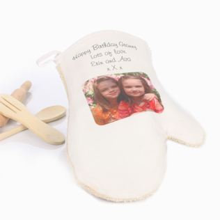 Personalised Oven Mitt Product Image