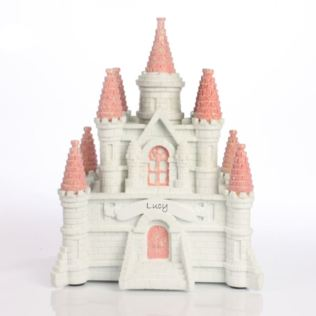 Personalised Princess Castle Money Box Product Image