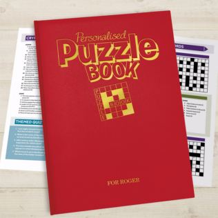 Personalised Puzzle Book Product Image