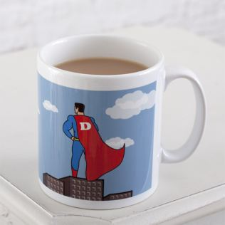 Super Hero Dad Personalised Mug Product Image