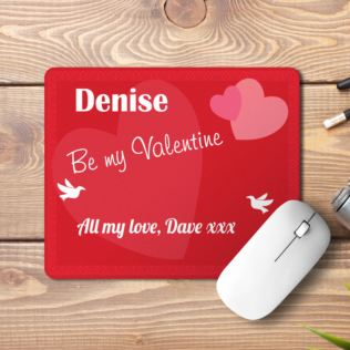 Personalised Valentines Day Mousemat Product Image