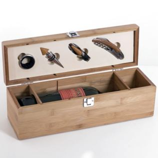 Personalised Wine Box and Bar Set Product Image
