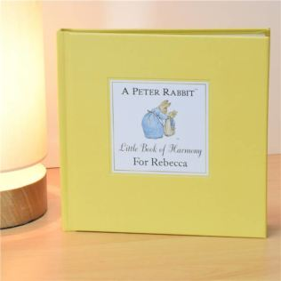 The Peter Rabbit Little Book of Harmony - Personalised Childrens Book Product Image
