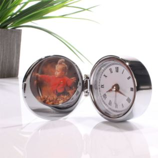 Personalised Alarm Clock & Photoframe Product Image