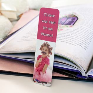 Personalised Photo Bookmark Product Image
