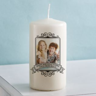 Photo Candle Product Image