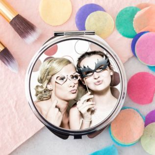 Photo Upload Compact Mirror Product Image