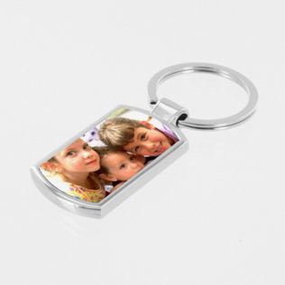 Personalised Photo Upload Keyring Product Image