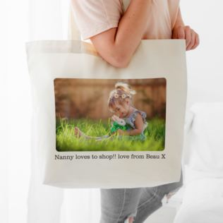 Personalised Shoulder Tote Bag Product Image