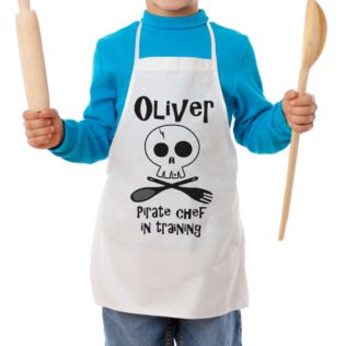 Personalised Pirate Chef Children's Apron Product Image