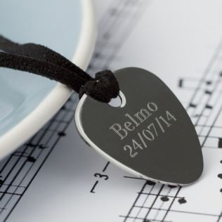 Engraved Guitar Plectrum Product Image