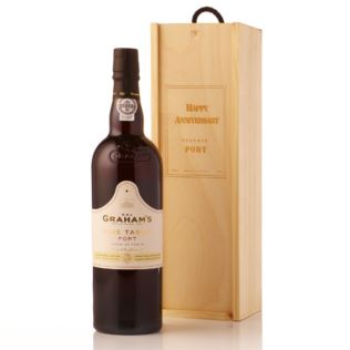 Fine Tawny Port Presented in a Personalised Wooden Gift Box Product Image