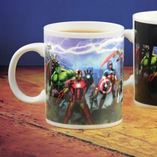 Avengers Heat Change Mug Product Image
