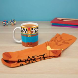 Toy Story Woody Mug and Socks Set Product Image