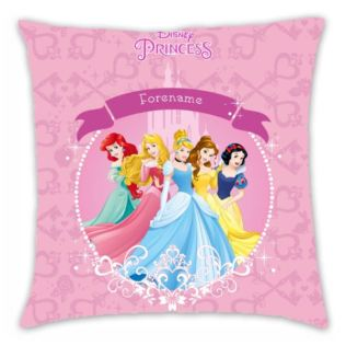 Personalised Disney Princess Group Cushion Product Image