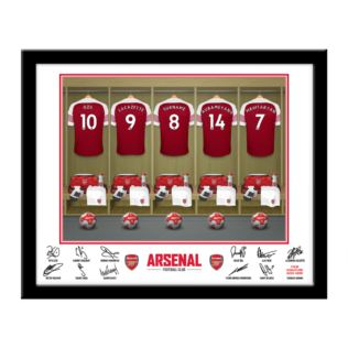 Personalised Arsenal Dressing Room Framed Photo Product Image