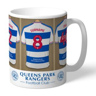Personalised Queens Park Rangers FC Dressing Room Mug Product Image
