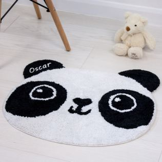 Personalised Kawaii Panda Rug Product Image