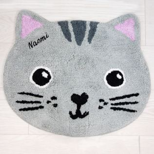 Personalised Nori Cat Kawaii Friends Rug Product Image