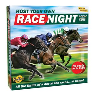 Host Your Own Horse Race Night DVD Game Product Image