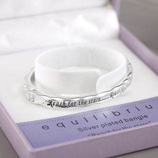 Reach For The Stars Bangle in Personalised Box Product Image