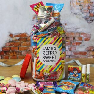 Personalised Sweetie Jar Product Image